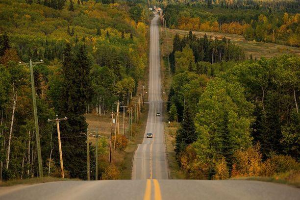 Ruska alkaa näkyä myös Kanadan Brittiläisessä Kolumbiassa. Kuva on otettu tiistaina.