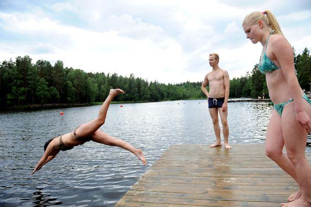 Tänä kesänä ehtii vielä nauttimaan uimakeleistä.