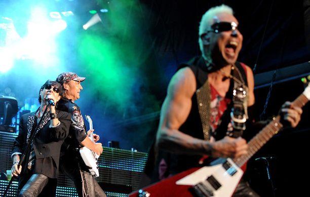 Scorpions muistetaan tarttuvista kappaleista ja räväkästä lavaesiintymisestään.