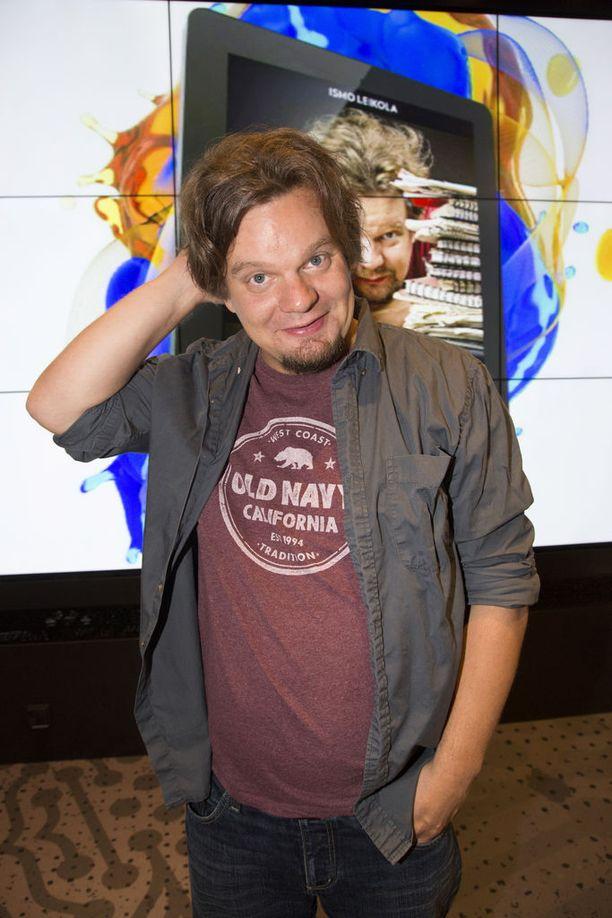 Stand up -koomikko Ismo Leikola viihtyy Kaliforniassa. Kuva vuodelta 2016.