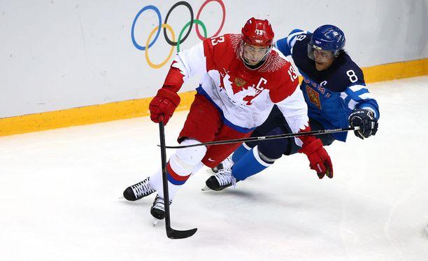 Pavel Datsuk oli Venäjän kapteeni Sotshin olympialaisissa.
