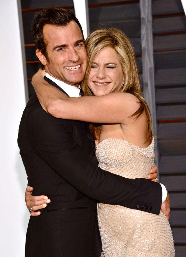Justin Theroux ja Jennifer Aniston