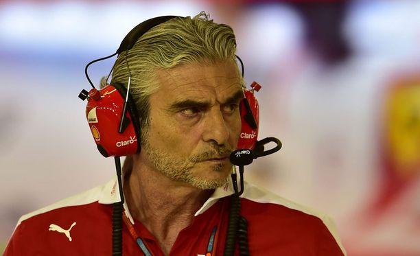 Maurizio Arrivabene ei ole saanut Ferraria todelliseen lentoon.