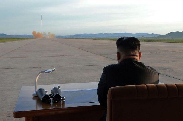Kim Jong-unin syntymäpäivänä ei ammuta raketteja. Arkistokuva.