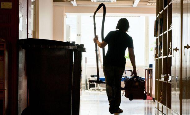 PAM on antanut kiinteistöpalvelualalle lakkovaroituksen, joka koskisi muun muassa siivoojia. Kuvituskuva.