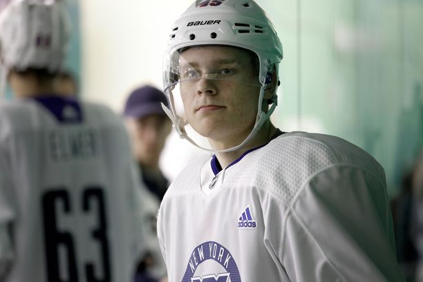 Kaapo Kakko saa mahdollisuuden Rangersin nuoressa joukkueessa.