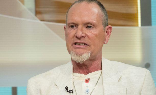 Paul Gascoigne esiintyi brittikanavan aamuohjelmassa viime kesänä.