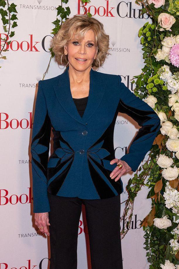 Jane Fonda on nähty elokuvien ja tv-sarjojen lisäksi Broadway-näytelmissä.