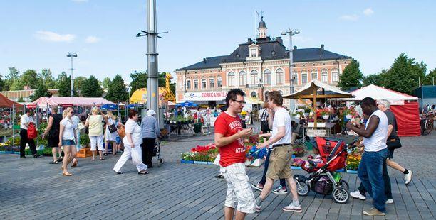 ...Kuopio olivat paljon Helsinkiä korkeammalla.