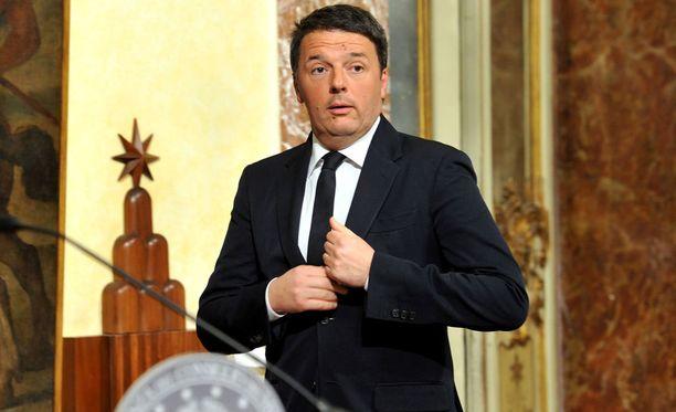 Italian pääministeri Matteo Renzi ilmoitti eroavansa sunnuntain ja maanantain välisenä yönä.