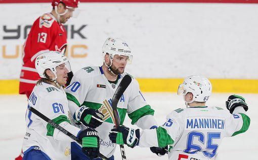 Se on siinä! Teemu Hartikainen rikkoi 12 vuotta vanhan ennätyksen KHL:ssä