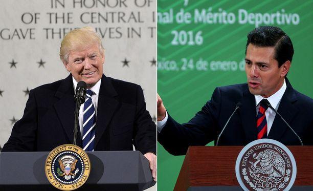 Yhdysvaltain presidentti Donald Trump ja Meksikon presidentti Enrique Pena Nieto keskustelivat puhelimitse, kertoo lähde.