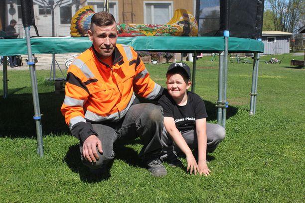 Janne Mattila pelasti Juha-isänsä hengen.