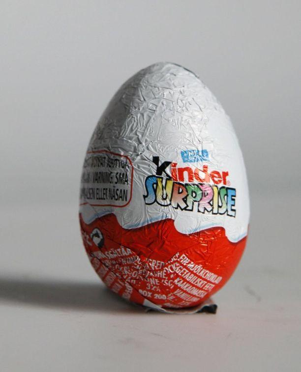 Kinder-muna on italialaisen Ferrero-yrityksen suosittu tuote.