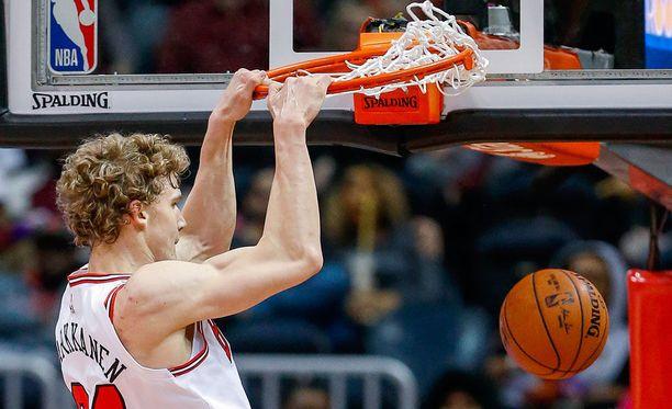 Lauri Markkasen tulokaskausi NBA:ssa on ollut pisterikas.