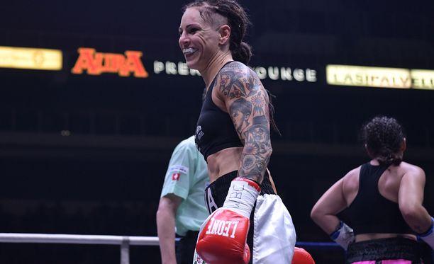 Eva Wahlström jatkoi voittokulkuaan. Arkistokuva.