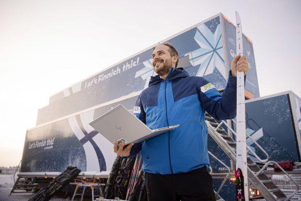 Suomen uusi huoltopäällikkö Martin Norrgård on tuonut tietokoneanalysoinnin osaksi rasvarekan toimintakulttuuria.
