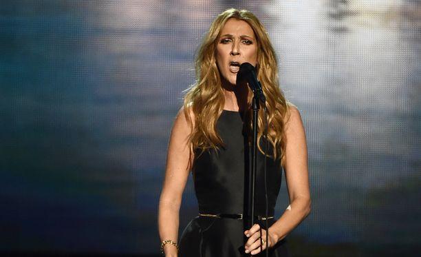Celine Dion menetti miehensä tammikuussa.