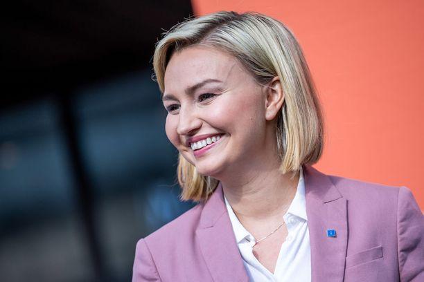 Ebba Busch Thor on toiminut Ruotsin kristillisdemokraattien johdossa keväästä 2015 alkaen.