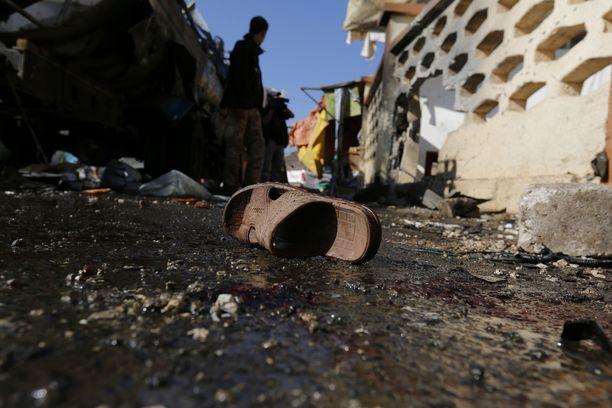 Isis on tehnyt iskuja eri puolilla Lähi-itää, myös Jemenissä, josta kuva vuodelta 2015.