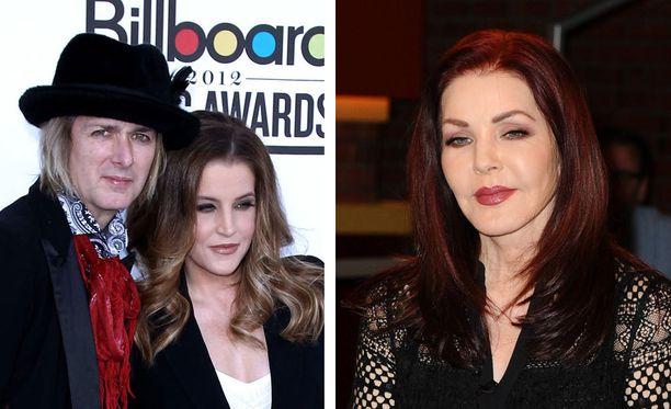 Michael Lockwood, Lisa Marie Presley sekä Priscilla Presley.