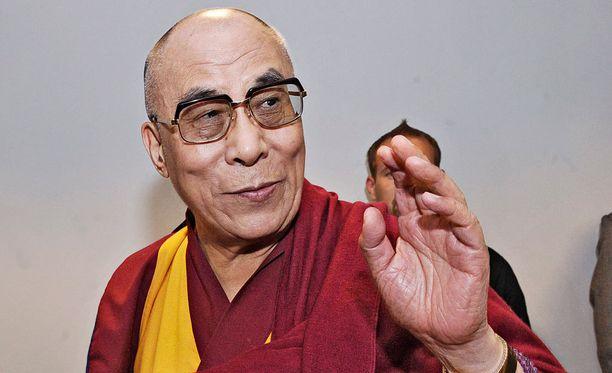 Dalai-lama vieraili Suomessa vuonna 2011.
