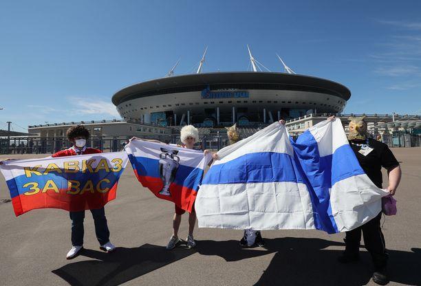 Suomi ja Venäjä kohtasivat toisensa Pietarissa.