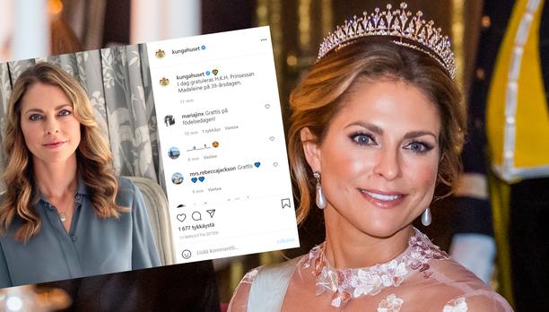Prinsessa Madeleine juhlii 10. kesäkuuta 2021 39-vuotissyntymäpäiviään.