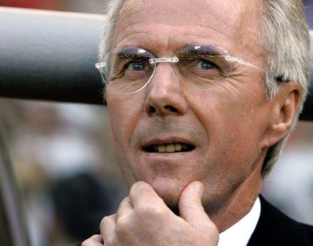 Sven-Göran Eriksson saattaa tulevalla kaudella valmentaa Aston Villaa.