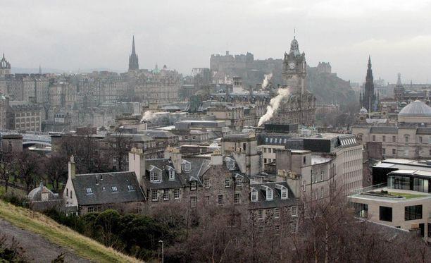 Suomalainen katosi ja löytyi Edinburghissa Skotlannissa. Arkistokuva.