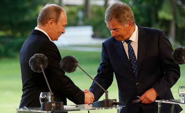 Venäjän presidentti Vladimir Putin on vieraillut Suomessa useaan otteeseen myös Sauli Niinistön toimikaudella.