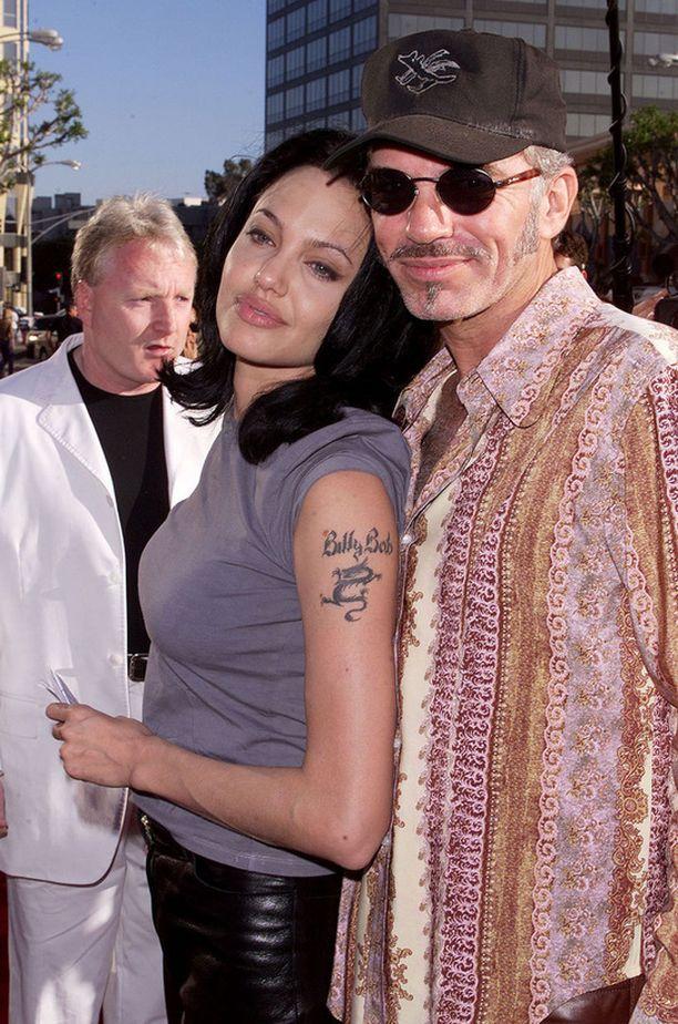 Angelina Jolie oli sulaa vahaa Billy Bob Thorntonin rinnalla.