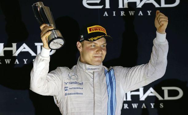 Valtteri Bottas ajoi viime kaudella kaksi kertaa kakkoseksi.