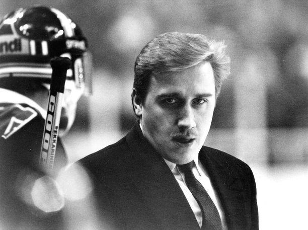 Juha Junno oli nostamassa kuopiolaiskiekkoa Suomen huipulle 1980- ja 1990-luvun taitteessa.