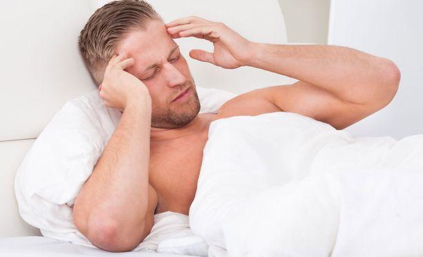 Aamuinen päänsärky voi kertoa uniapneasta tai liian tehokkaasta kääriytymisestä.