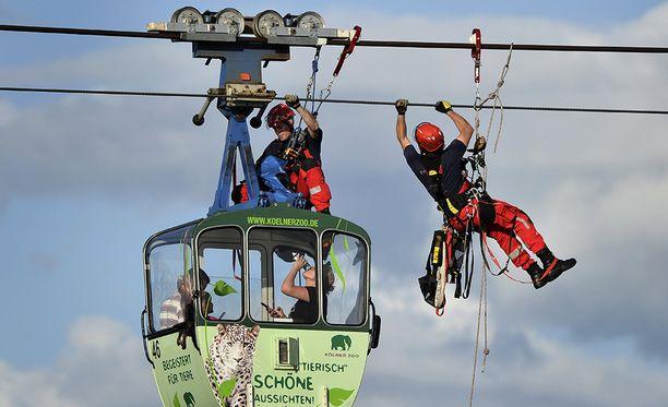 Kölnin ja naapurikuntien pelastuslaitokset olivat harjoitelleet vastaavanlaista pelastustyötä vain viikkoa aikaisemmin.