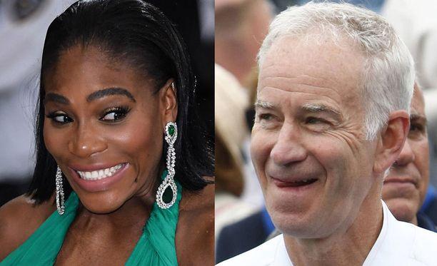 Serena Williams sai kiinnostavat kehut tennislegenda John McEnroelta.