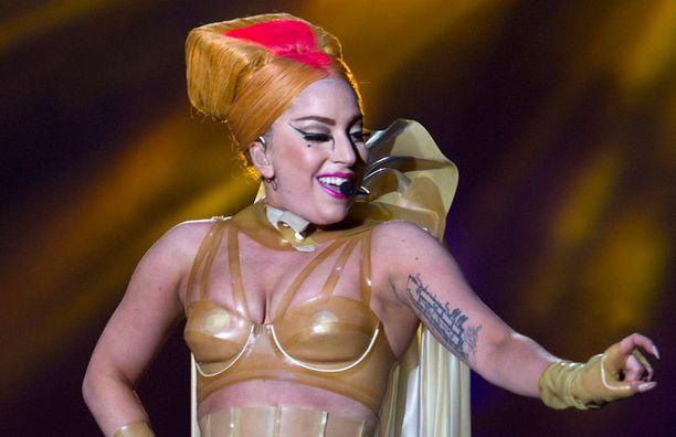 Lady Gaga esiintyi Perthissä Australiassa heinäkuussa.