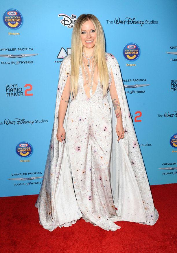 Avril Lavigne Disneyn musiikkitapahtumassa New Yorkissa kesäkuussa 2019.