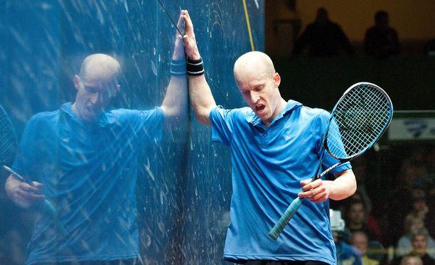 Olli Tuominen on suomalaisen squashin kasvot.