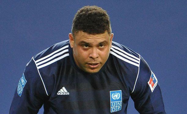 Tältä Ronaldo näytti vielä tovi sitten ennen laihdutuskuuriaan.