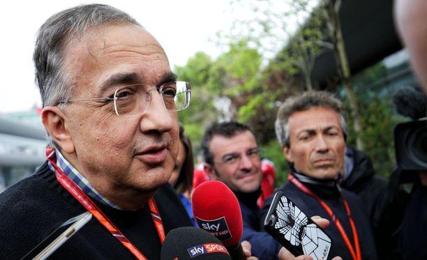 Sergio Marchionne ei pidä Liberty Median moottoriehdotuksesta.