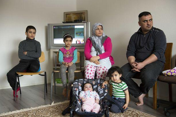Irakilaisperhettä odottaa maasta poistaminen.