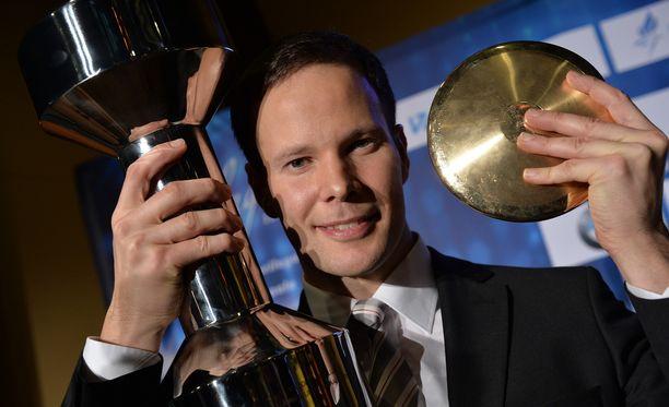 Tero Pitkämäki valittiin jo kolmannen kerran Vuoden urheilijaksi.