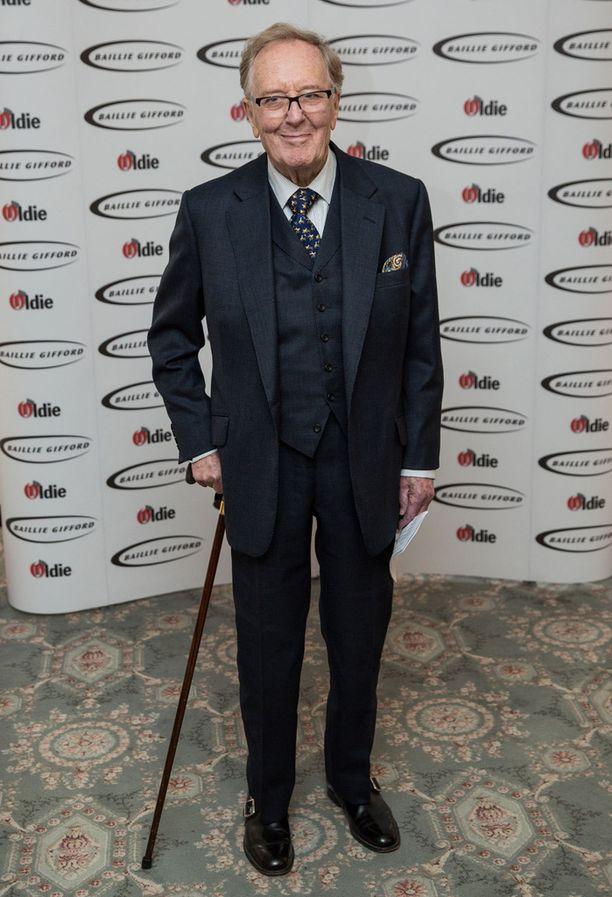 Hardy kuoli 91-vuotiaana. Kuolinsyytä ei ole vielä kerrottu julkisuuteen. Kuvassa mies viime vuonna.