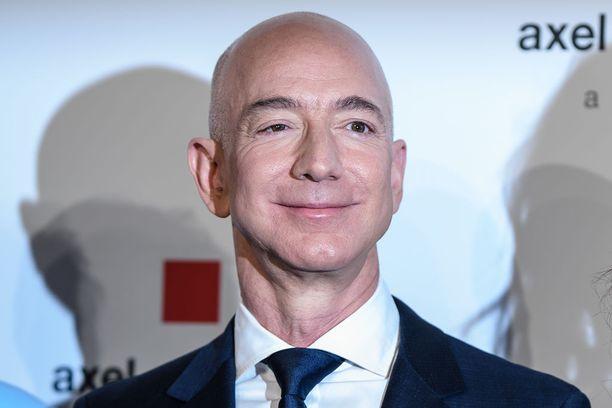 Jeff Bezos perusti Amazonin vuonna 1994.