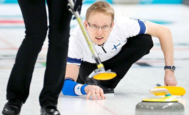 Tomi Rantamäen ja Oona Kausteen curlingurakka jatkuu ilman voittoa.