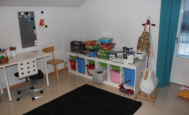 Turvakodeissa on muun muassa leikkihuoneita lapsille.