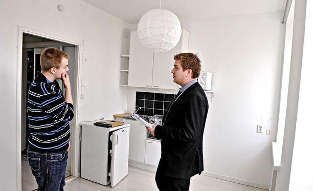 Pienten asuntojen kysyntä kasvaa opiskelijavalintojen julkaisemisen jälkeen.