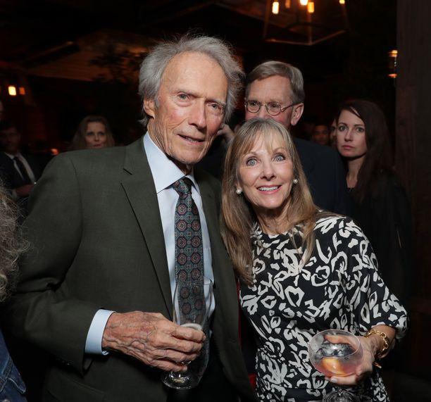 Clint Eastwood ja Laurie Eastwood.